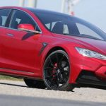 2015 Tesla Model S builds bodykit with basalt fiber