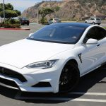 Larte Design use basalt fiber in Tesla S bumpers