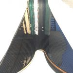 Franco Snowboard with Basalt Unidirectional and BiAxial Fabric