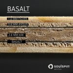 soulspin basalt racket composition