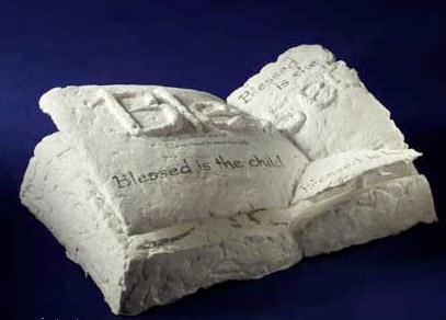 Basalt fibers in sculpture