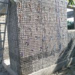 Basalt mesh in Haiti school construction