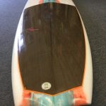 Rodrigo Romo's 9ft custom longboard with basalt fabric
