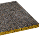 Solecol uses basalt mesh technology with lightweight glass aggregates