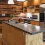 Cast concrete countertops using basalt rebar and basalt mesh